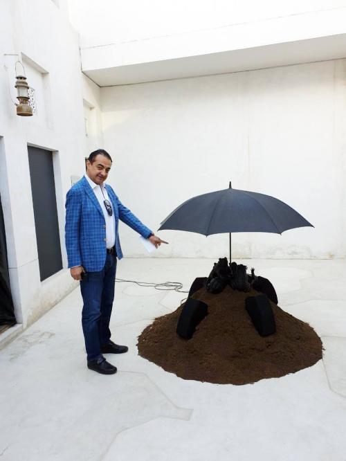 Mohamed Dekkak at Sharjah Art Foundation Opens Sharjah Biennial 14 3