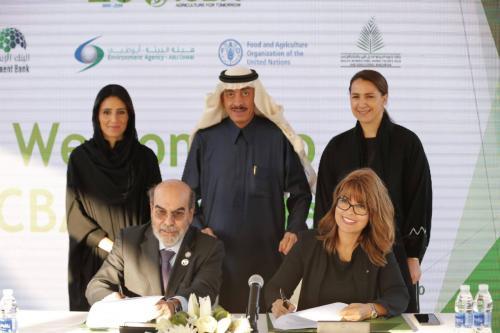 Mohamed Dekkak attends International Center for Biosaline Agriculture (ICBA) VIP open day 2