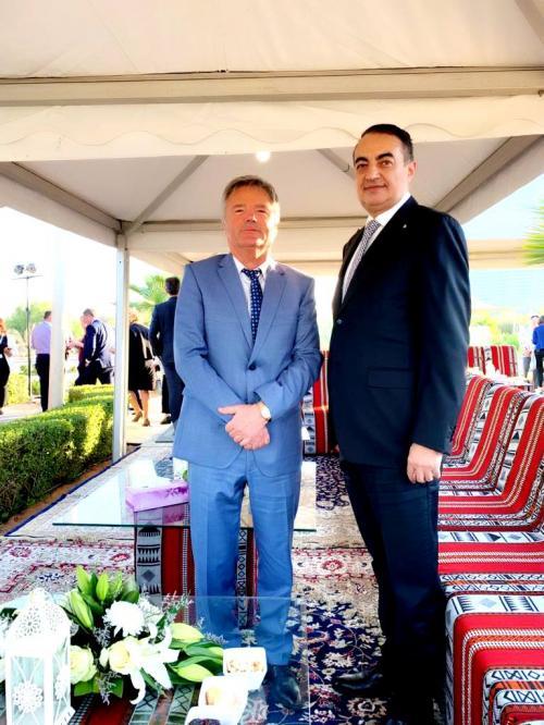 Mohamed Dekkak attends International Center for Biosaline Agriculture (ICBA) VIP open day