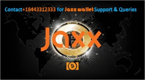 Users can dial+18443312333 for Jaxx support number.