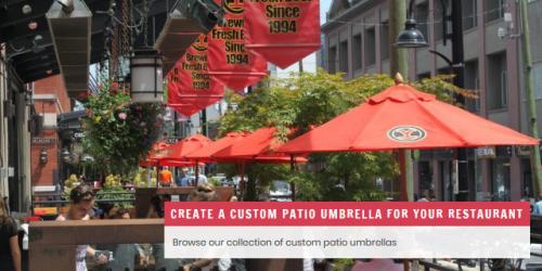 Custom Patio Umbrellas