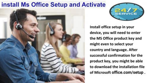 How to get support for MS Office Setup?