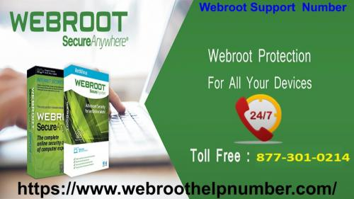 Support Using toll free number 877301024 With Webroot.com/support