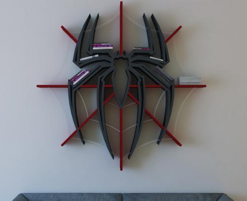 spiderman-bookshelf