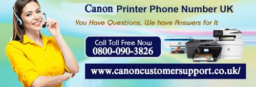 Get rid of Canon Printer issues here