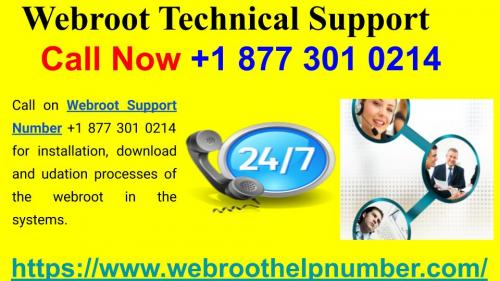 Technical Support With Webroot Security Software