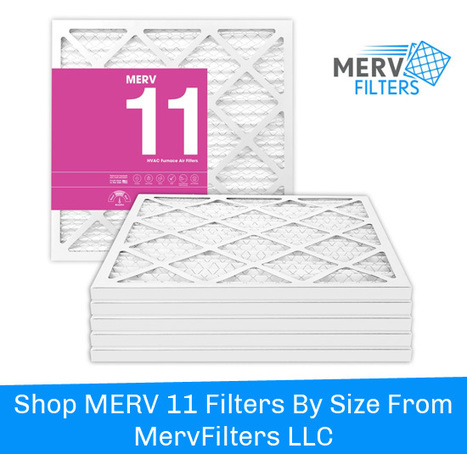 Shop MERV 11 Filters By Size From MervFilters LLC