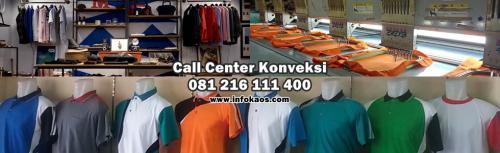 Konveksi Kaos Sablon bordir Surabaya sidoarjo, 081 216 111 400