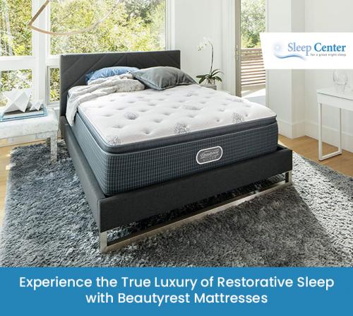 Experience the True Luxury of Restorative Sleep with Beautyrest Mattresses
