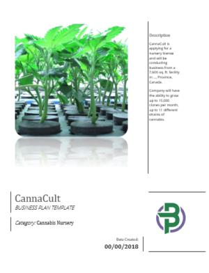 cannabis businessplans Canada