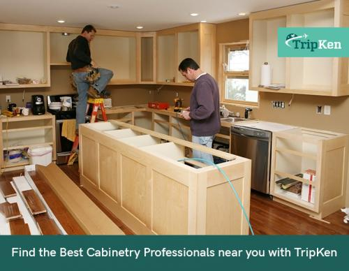 Find the Best Cabinetry Professionals near you with TripKen