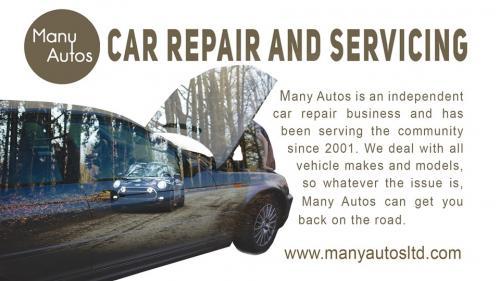 Car repair, servicing and MOT at Many Autos
