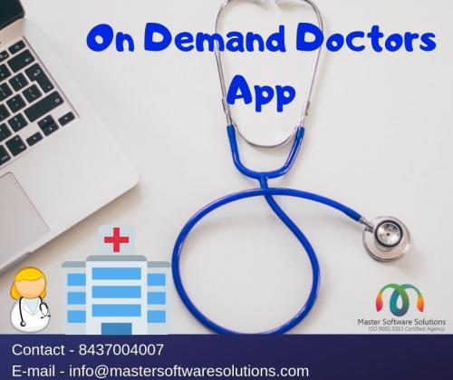 On-demand doctor app