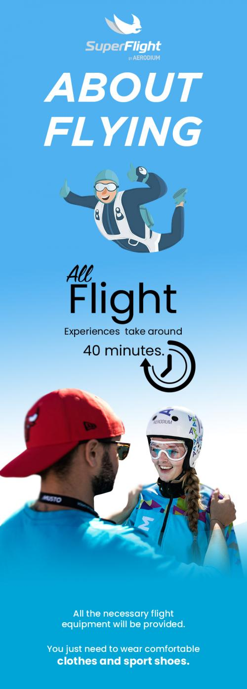 SuperFlight Offer Indoor Skydiving Without any Risk