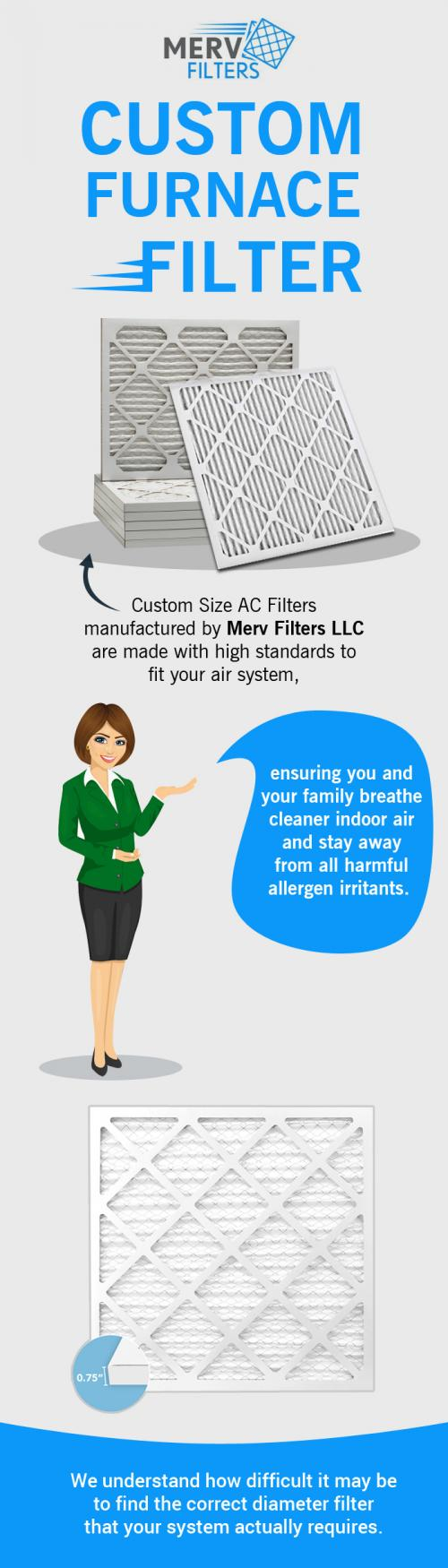Top-Quality Custom Furnace Air Filters Online at MervFilters LLC