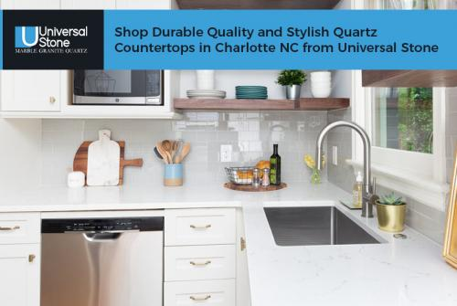 Shop Durable Quality and Stylish Quartz Countertops in Charlotte NC from Universal Stone