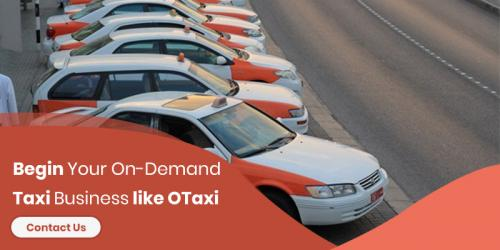 Begin Your On-Demand Taxi Business like OTaxi