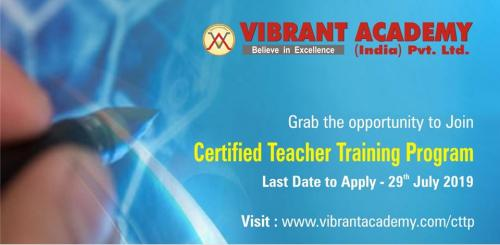 Certified Teacher Training Programme