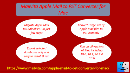 Apple to PST Converter for Macintosh PC