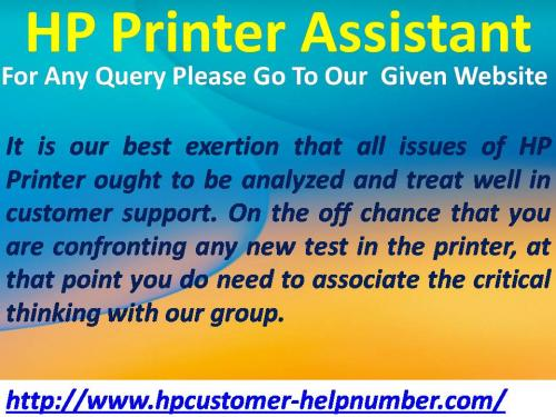 HP Customer Help Number For Technical Issue