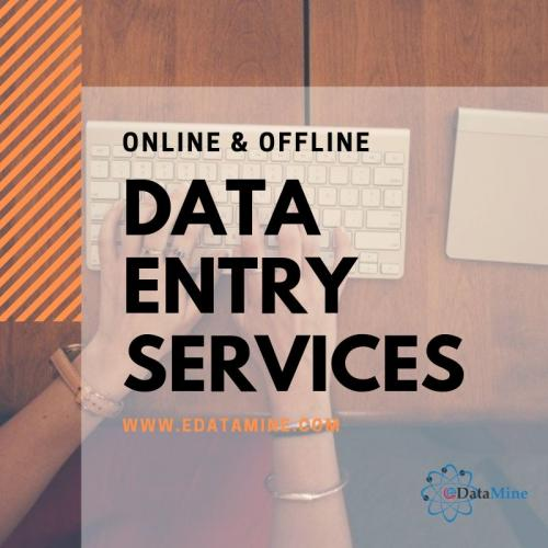Offline Data Entry Services and Outsource Data Processing Services