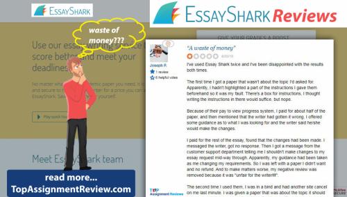 EssayShark.com Reviews: EssayShark exposed by a customer review
