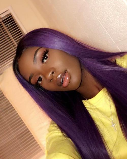 Black to Purple Ombre