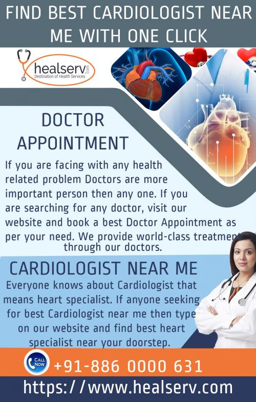 Find Best Cardiologist near me with one click