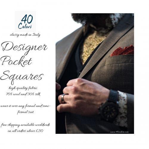 Trendy Designer Pocket Squares for Men