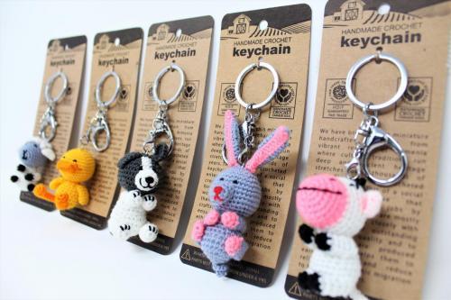 Shop felted woolen keychains online