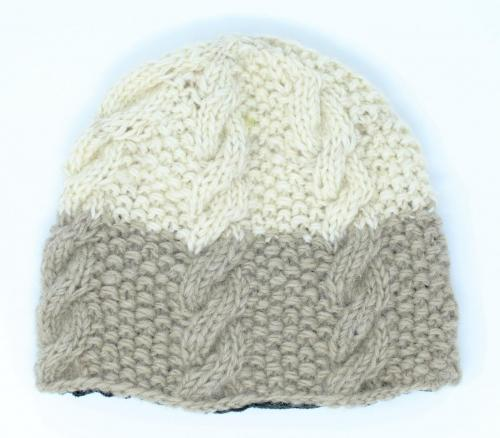 Buy women's hand knitted wool hat online at an unbeatable price