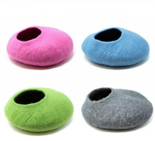Buy natural felted wool pet bed online