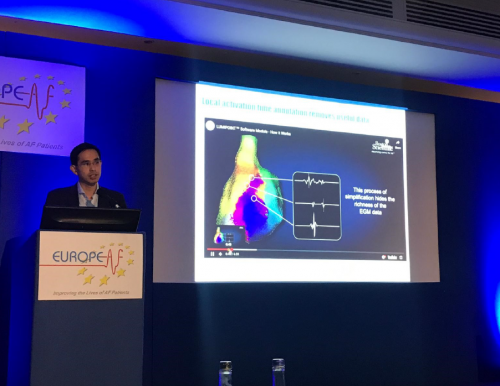 DR BOON LIM LECTURE DURING EUROPE AF MEETING IN LONDON NOV 2019