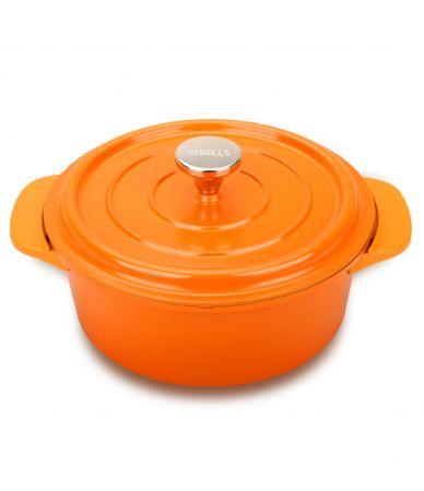 enamel frying pan