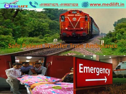 Train Ambulance from Patna at Low Fare