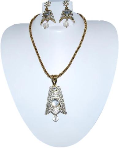 Screenshot_2020-01-03 Designer Fashion Antique Finish Pendant Earring Set for Women