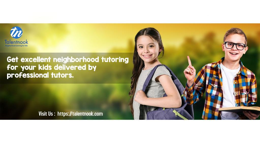 Get excellent Neighbourhood tutoring for your kids delivered by professional tutors