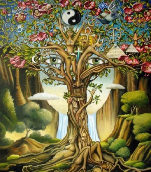 hippie love quotes _ love tree hippie boho peace ying yang enjoylifeclub •