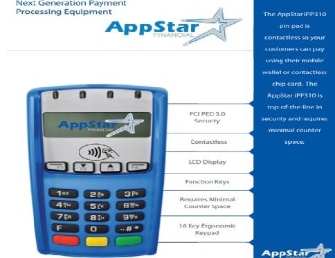 Appstar -PinPad