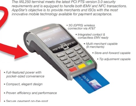 Appstar Financial ! Wireless Terminal