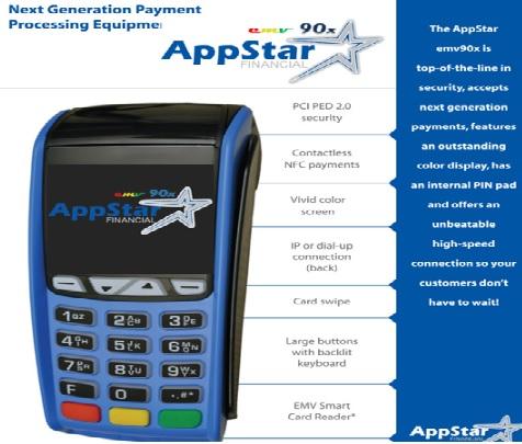 Appstar EMV90X