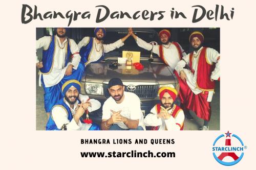 Bhangra Dancers in Delhi