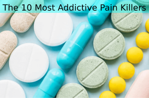 The 10 Most Addictive Pain Killers