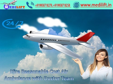 Book Hassle-Free Air Ambulance Service in Lucknow with ICU