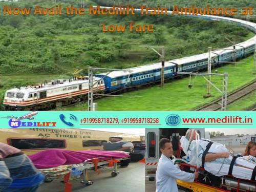 Latest Equipment Offered in an Emergency-Medilift Train Ambulance from Patna