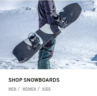 Snowboard Store Canada
