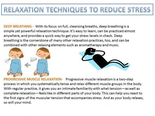 Relaxation Techinque to Reducess Stress