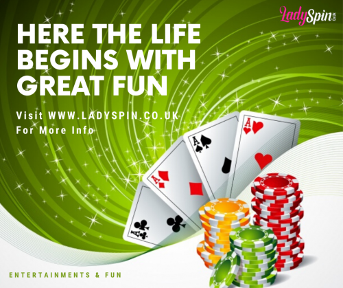 HERE THE LIFE BEGINS WITH GREAT FUN