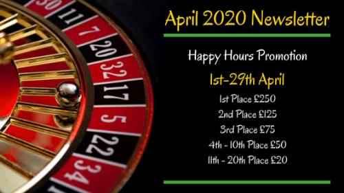 April 2020 Newsletter Slots Casino Network