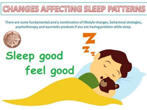 Changes Affecting Sleep Patterns